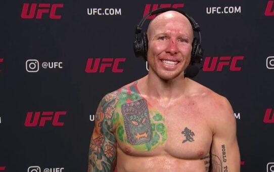UFC Vegas 3: Josh Emmett Post-fight Interview