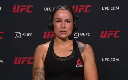 UFC Vegas 3: Raquel Pennington Post-fight Interview