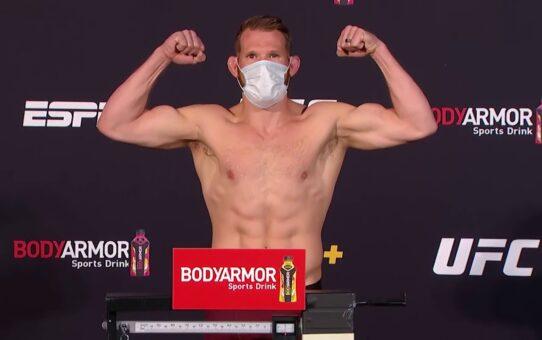 UFC Vegas 4: Weigh-in