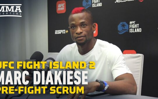 UFC Fight Island 2: Marc Diakiese Felt 'Stupid' Not Having Structure in Past Fights – MMA Fighting
