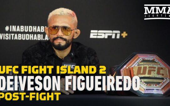 UFC Fight Island 2: Deiveson Figueiredo Post-Fight Press Conference – MMA Fighting