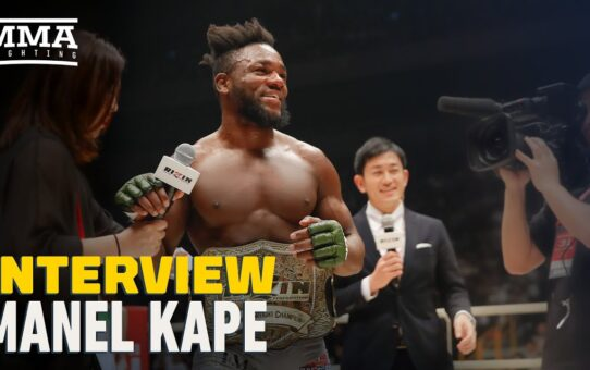 Manel Kape Guarantees 'I Will Smash' Deiveson Figueiredo, Welcomes Cody Garbrandt Flyweight Move