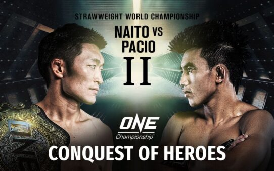 🔴 [LIVE] ONE Championship: CONQUEST OF HEROES | ONE@Home Event Replay