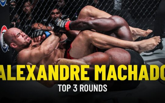Alexandre Machado's Top 3 Rounds