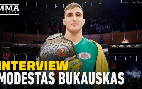 Modestas Bukauskas Predicts 'Agressive and Vicious' Debut at UFC on ESPN 13 – MMA Fighting