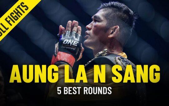 Aung La N Sang's 5 Best Rounds