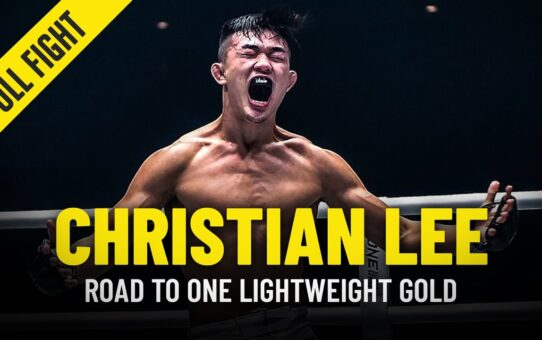 Christian Lee's Turning Point | ONE Full Fight & Feature