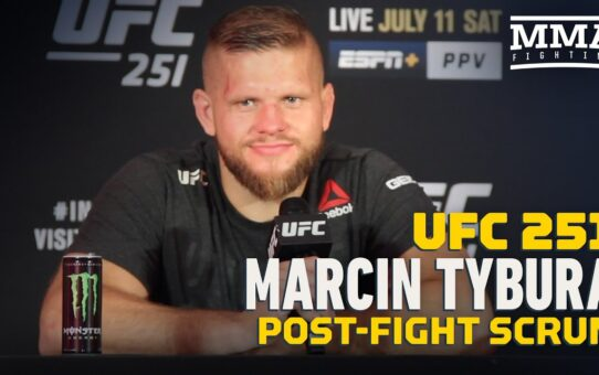 Marcin Tybura Had To Study Fast To Fight Unknown Maxim Grishin at UFC 251 – MMA Fighting