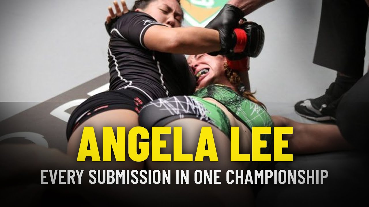 Every Angela Lee Submission In ONE Championship