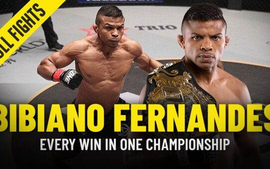 Every Bibiano Fernandes Win In ONE Championship | ONE Full Fights
