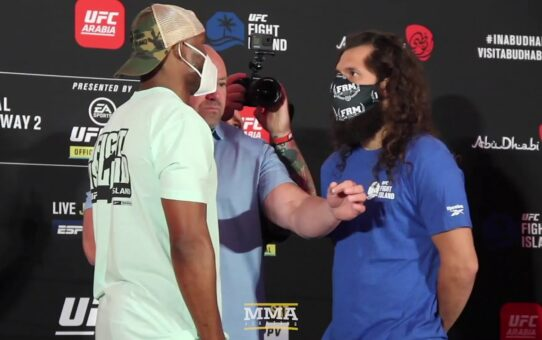 UFC 251: Kamaru Usman vs. Jorge Masvidal Weigh-In Staredowns – MMA Fighting