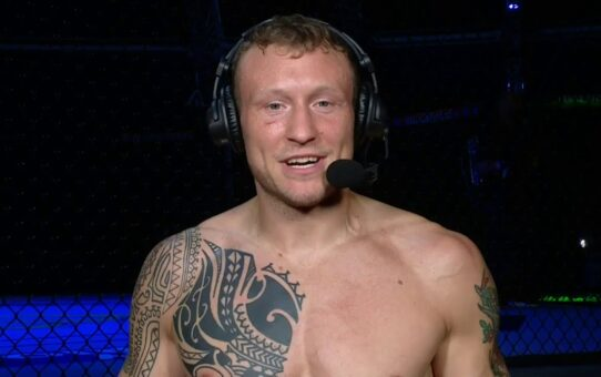 Fight Island 2: Jack Hermansson Post-fight Interview