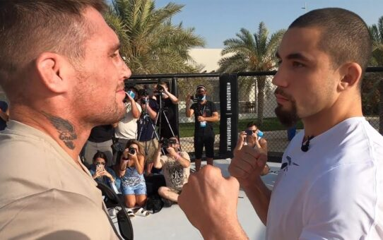 Fight Island 3: Whittaker vs Till Beach Faceoff