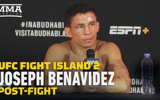 UFC Fight Island 2: Joseph Benavidez Post-Fight Press Conference – MMA Fighting
