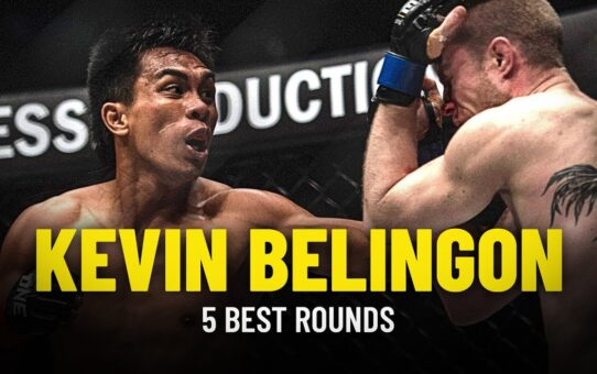 Kevin Belingon's 5 Best Rounds
