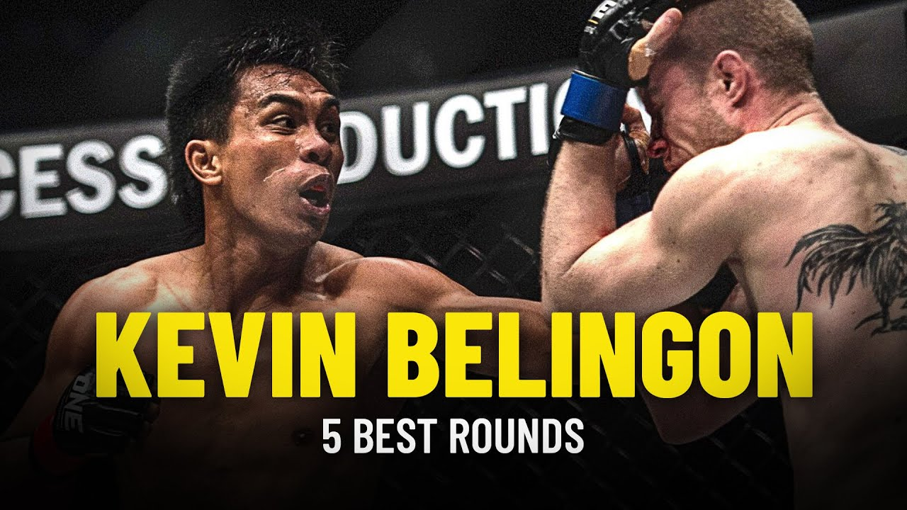 Kevin Belingon's 5 Best Rounds
