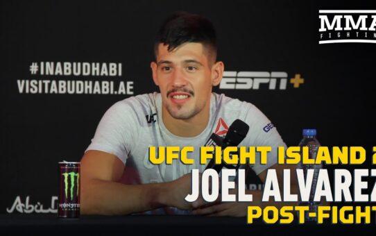 UFC Fight Island 2: Joel Alvarez Happy Being Underdog To Help Friends Make Money – MMA Fighting