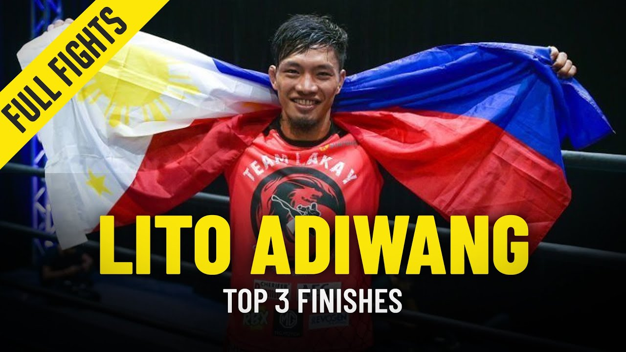 Lito Adiwang's Top 3 Finishes