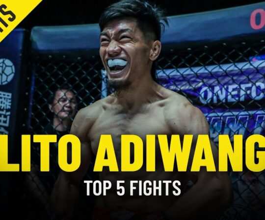 Lito Adiwang's Top 5 Fights | The Philippines' Next Superstar