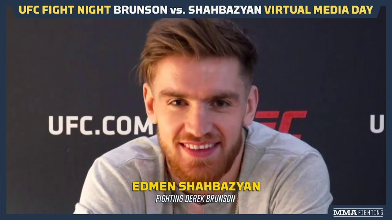 UFC Vegas 5: Edmen Shahbazyan Wanted To Fight Five Rounds Vs. Derek Brunson - MMA Fighting