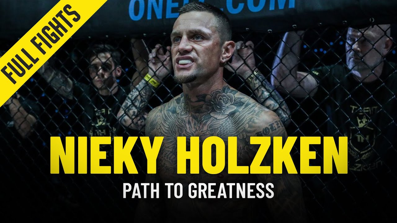 Nieky Holzken's Path To Greatness   ONE Full Fights & Features