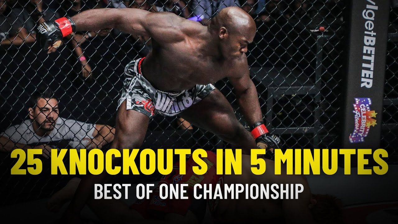 ONE Championship Presents: 25 Knockouts In 5 Minutes