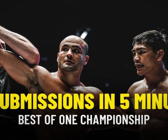 ONE Championship Presents: 30 Submissions In 5 Minutes
