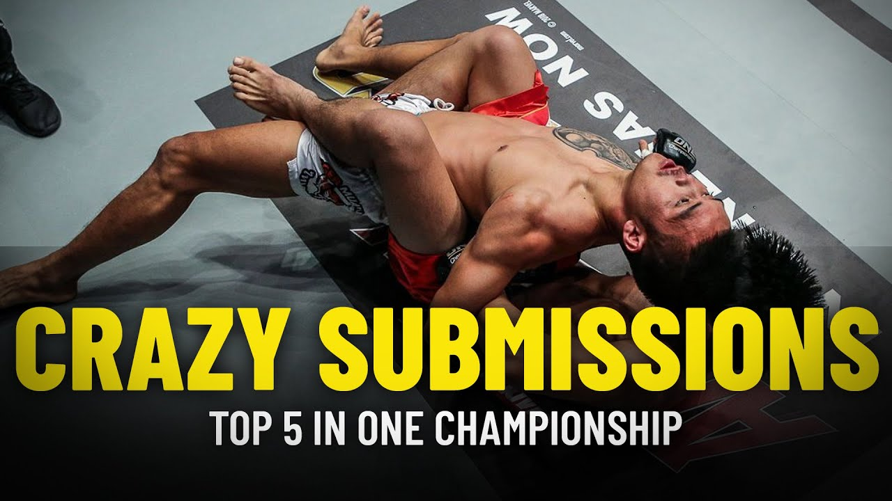 ONE Championship's 5 Craziest Submissions