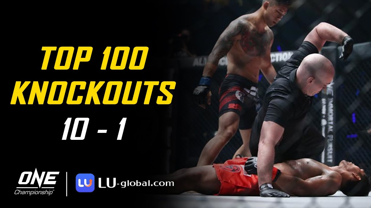 ONE Championship's Top 100 Knockouts | 10 - 1