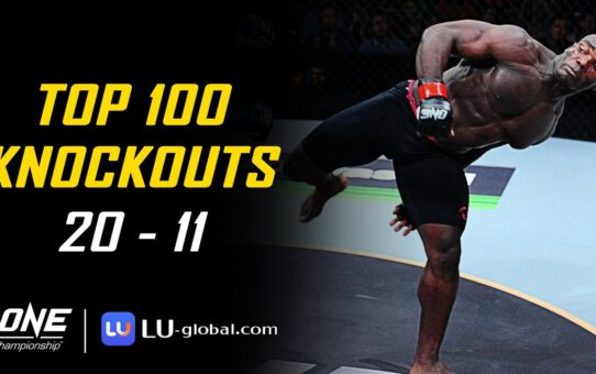 ONE Championship's Top 100 Knockouts | 20 – 11