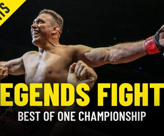 ONE Championship's Top 5 Legends Fights