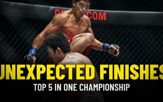 ONE Championship's Top 5 Unexpected Finishes