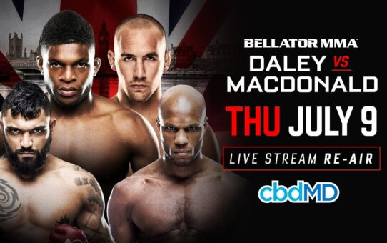 Re-Air | Bellator 179 Daley vs. Macdonald