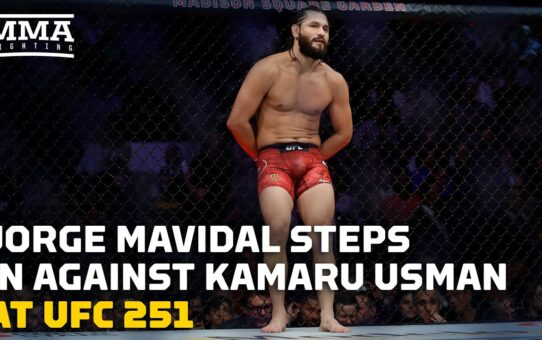 React: Jorge Masvidal Will Face Kamaru Usman at UFC 251 – MMA Fighting