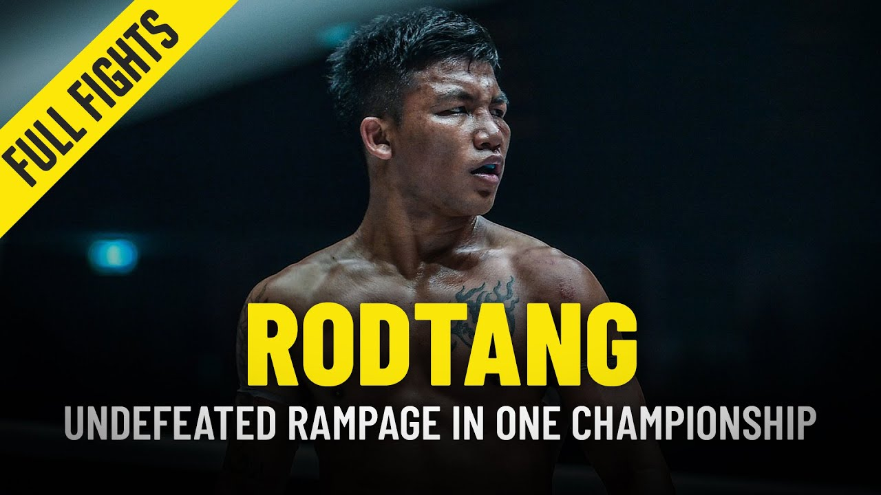 Rodtang's Undefeated Rampage In ONE Championship