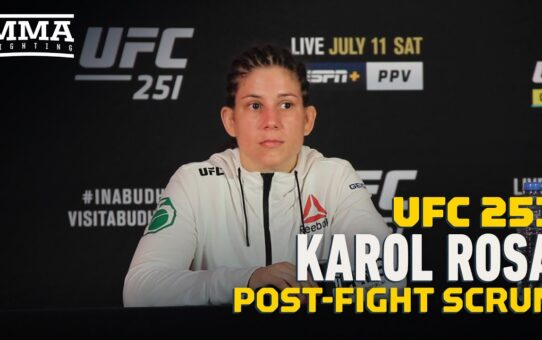 After Several Cancellations, Karol Rosa Vowed to Fight Despite Opponent's Weight Miss – MMA Fighting