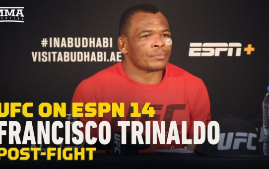UFC on ESPN 14: Francisco Trinaldo Explains Move to 170, Calls Out Diego Sanchez  – MMA Fighting