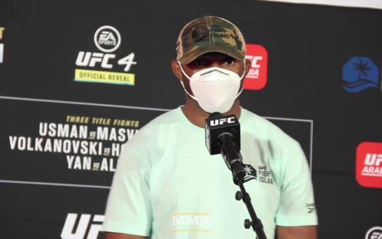 UFC 251: Kamaru Usman Sends Message To Fans Who Think He's Not Entertaining – MMA Fighting
