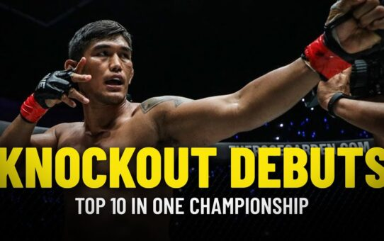 Top 10 Knockout Debuts In ONE Championship