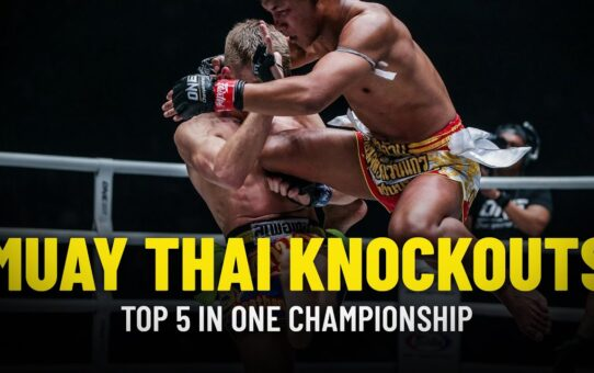 Top 5 Muay Thai Knockouts In ONE Championship