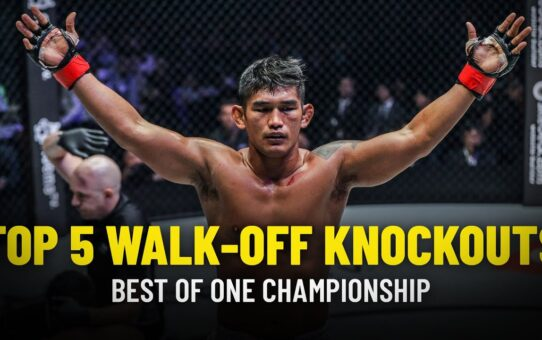 Top 5 Walk-Off Knockouts In ONE Championship