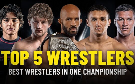 Top 5 Wrestlers In ONE Championship | Demetrious Johnson, Ben Askren & More