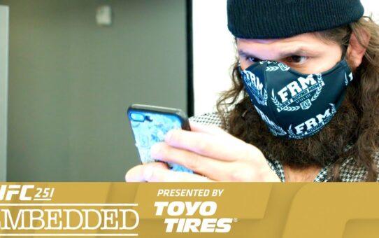 UFC 251 Embedded: Vlog Series – Episode 1