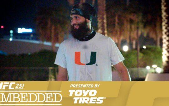 UFC 251 Embedded: Vlog Series – Episode 5