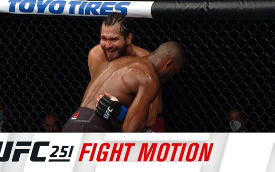 UFC 251: Fight Motion