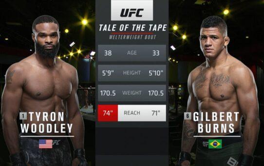 UFC 251 Free Fight: Gilbert Burns vs Tyron Woodley