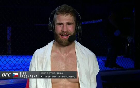 UFC 251: Jiri Prochazka Post-fight Interview