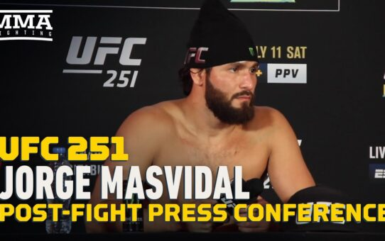 UFC 251: Jorge Masvidal Post-Fight Press Conference – MMA Fighting