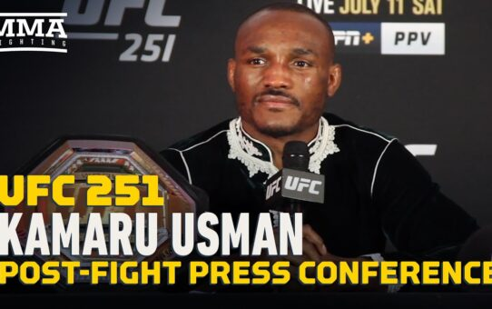 UFC 251: Kamaru Usman Post-Fight Press Conference – MMA Fighting