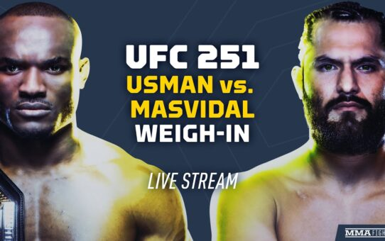 UFC 251: Kamaru Usman vs. Jorge Masvidal Official Weigh-Ins
